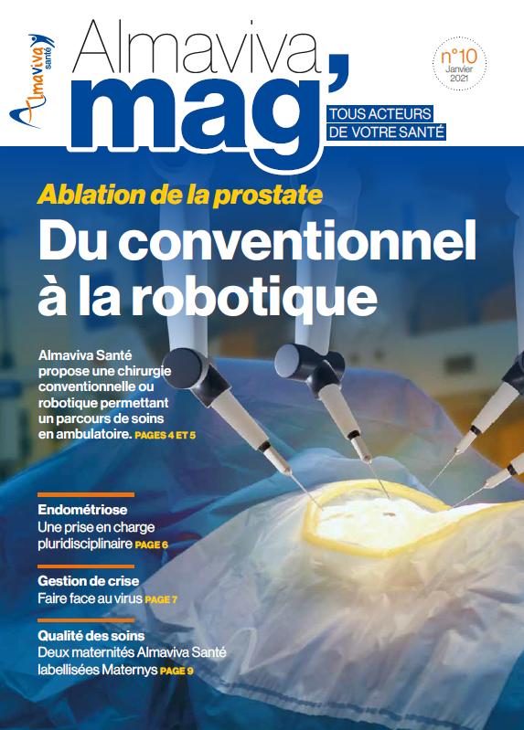 Magazine Almaviva Santé (n°10) Janvier 2021