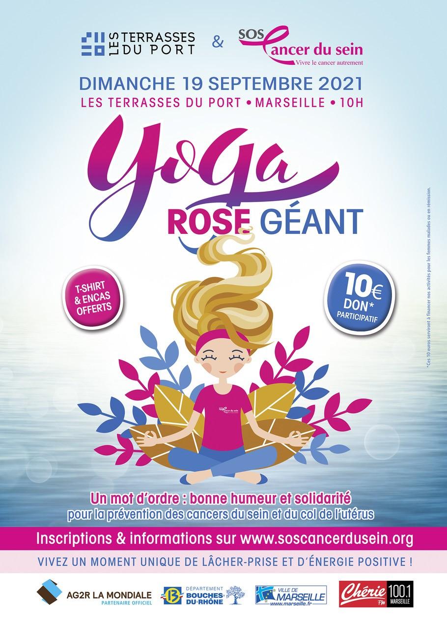 Evènement : YOGA ROSE GEANT
